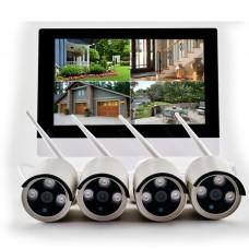 Kit videosorveglianza SMART WiFi 4 960 M10WR